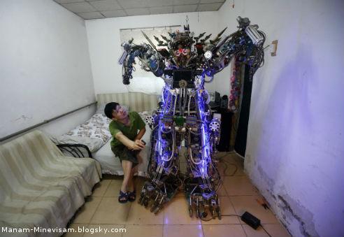 همه اختراعات جالب چینی ها - روبات کنترلی