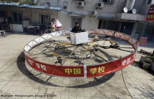 همه اختراعات جالب چینی ها - وسیله پرنده