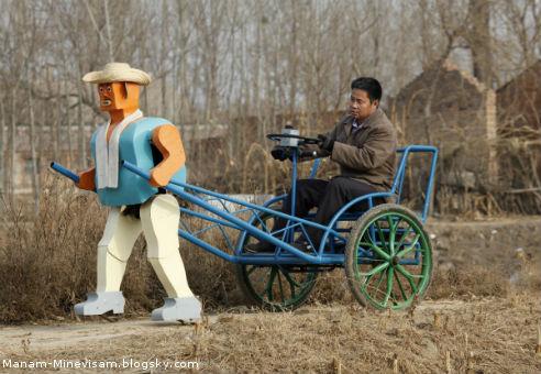 همه اختراعات جالب چینی ها - ربات