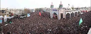 اجتماع میلیونی روز تاسوعا در اردبیل1393