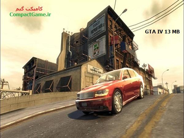 دانلود بازی GTA IV فقط 13 مگ