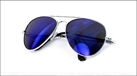 عینک آفتابی ریبن شیشه آبی خلبانی