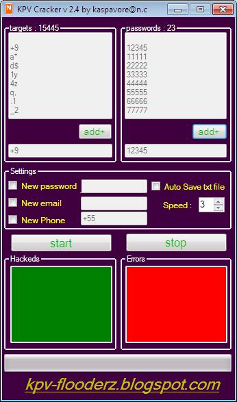 Kpv Cracker v 2.4 Multi Targets + Full Source Code In C# [ FREE ] Cracker