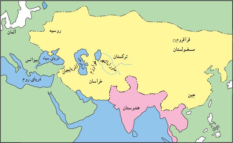 قلمرو مغولان