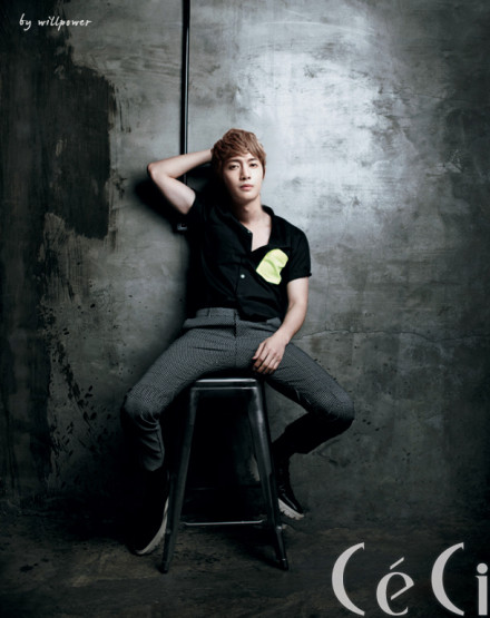 Photos_Kim Hyun Joong for CECI Magazine 2012