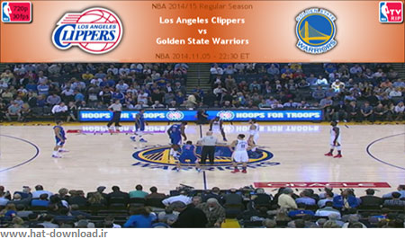 NBA.2014.11.05.Warriors.Clippers.Cover دانلود مسابقات ان بی ای   NBA 2014.11.05 Los Angeles Clippers vs Golden State Warriors