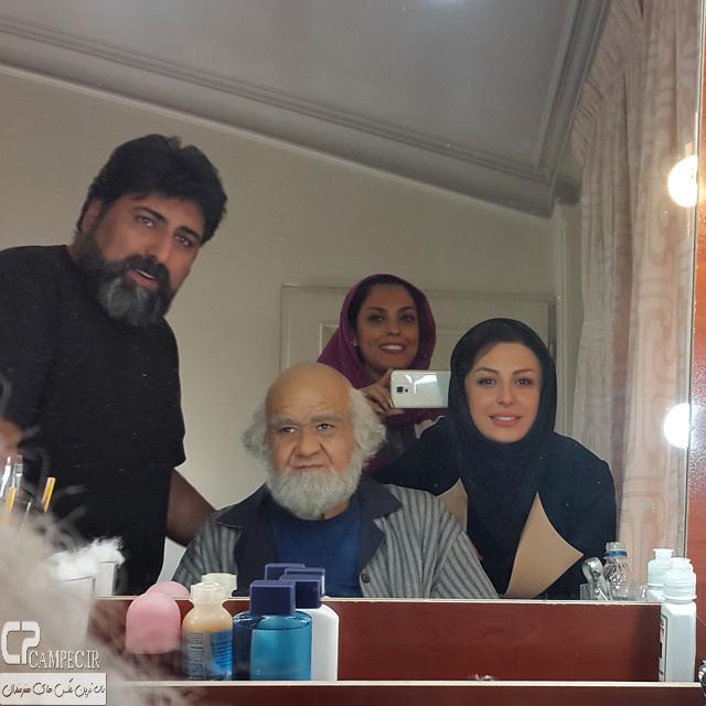 نیوشا ضیغمی و اکبر عبدی