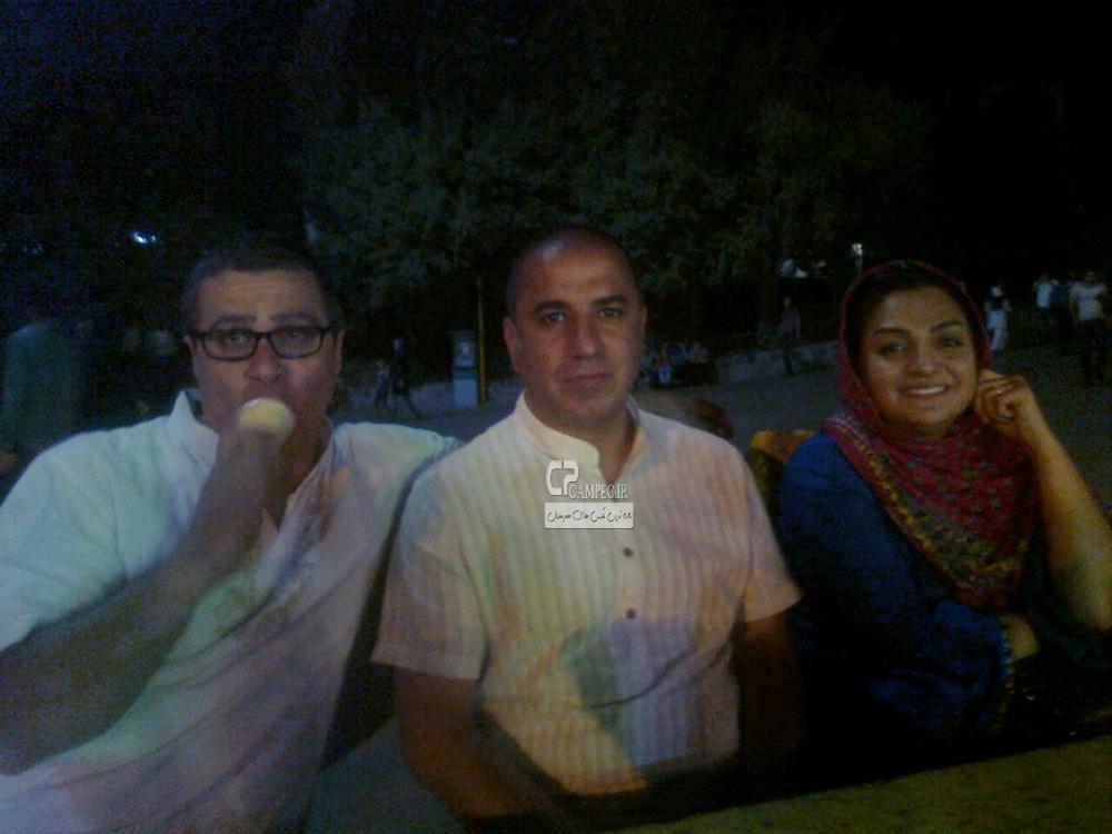 علی سلیمانی و همسرش
