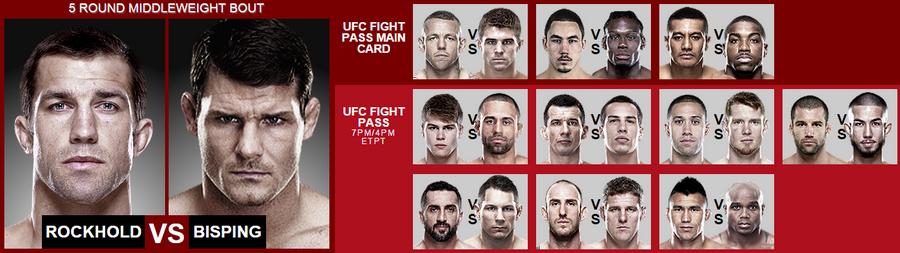دانلود یو اف سی فایت نایت 55   UFC Fight Night 55 : Rockhold vs. Bisping_نسخه 720