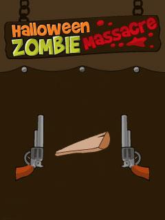 دانلود بازی Halloween Zombie massacre برای جاوا