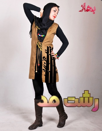مدل سارافون پارچه ترگال زنانه دخترانه طرح دار