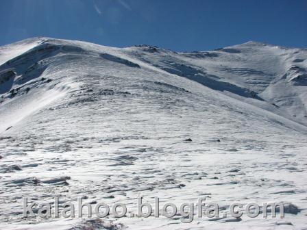 کلاردشت - قله شاه علمدار