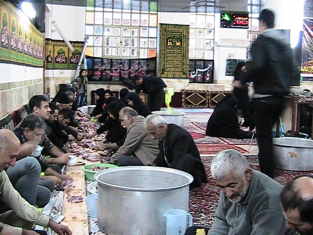 فیلم و عکس عزاداری محرم روستای لیالمان 1393