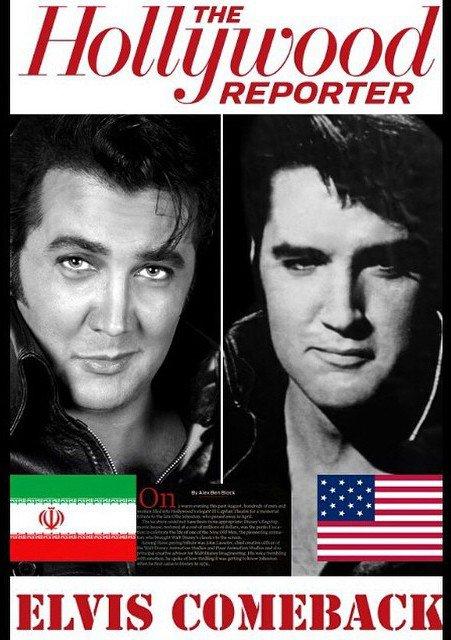 عکس بسیار جالب مجله امریکایی از بازیگر ایرانی بخاطر چهره اش