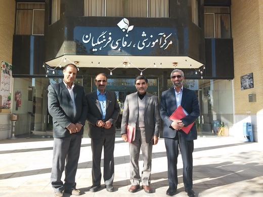 گزارش مصور از همایش دبیران عربی ناحیه 5 اصفهان