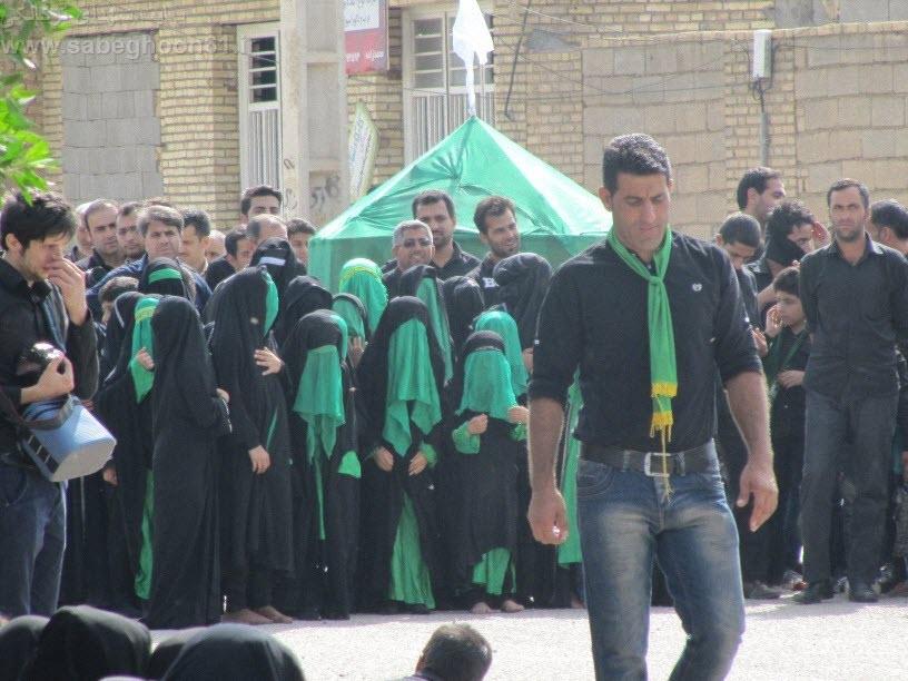 102  مراسم تاسوعا و عاشورا   مسجد حضرت ابوالفضل(ع) 1393