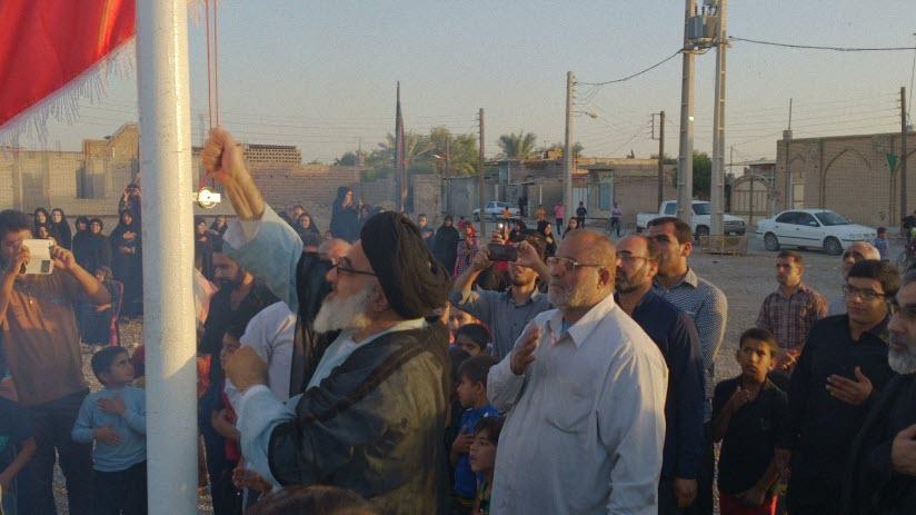 30  مراسم  پرچم  بنی هاشم (ع) در شهر ترکالکی  1393/8/9