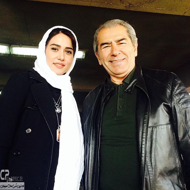 عکس جدید پریناز ایزدیار و فرامز قریبیان
