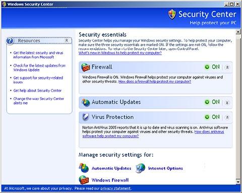 آموزش فعال کردن Update ویندوز XP