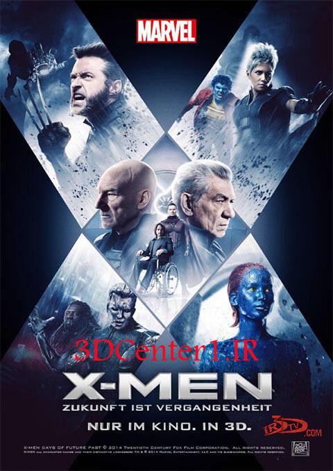 دانلود فیلم سه بعدی مردان ایکس X Men Days of Future Past 2014 3D