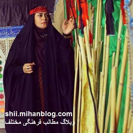 محجبه شدن الهام چرخنده ،وبلاگ مطالب فرهنگی مختلف
