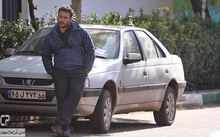محسن کیایی در پشت صحنه فیلم عصر یخبندان