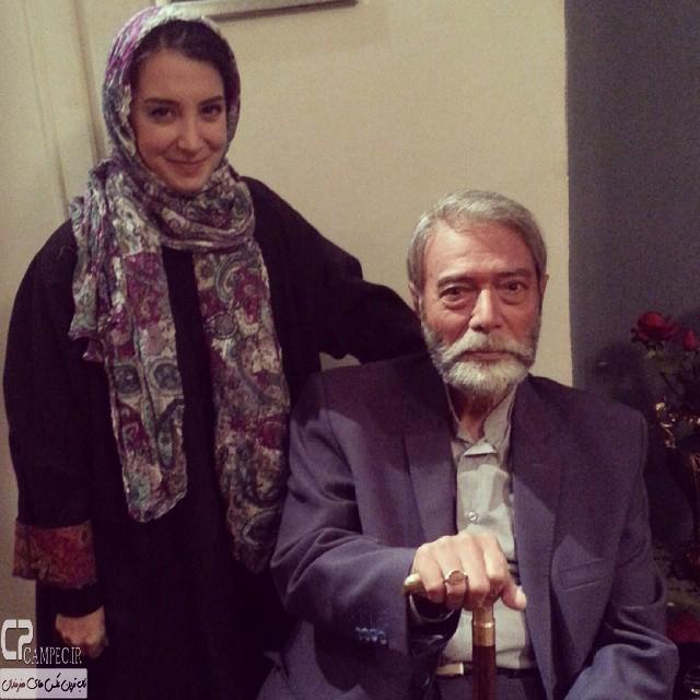 عکس جدید سحر جعفری جوزانی و علی نصیریان