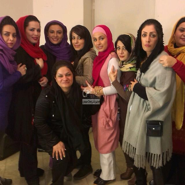 عکس جدید حدیثه تهرانی و ملیکا شریفی نیا