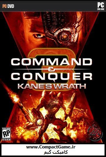 دانلود بازی جنرال ۳: خشم گین – Command & Conquer3: Kanes Wrath