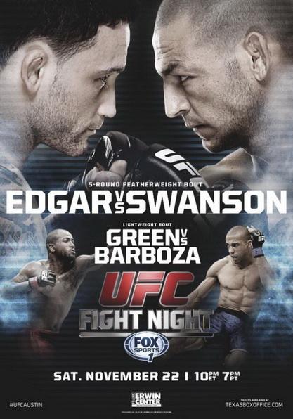 دانلود یو اف سی فایت نایت 57   UFC Fight Night 57 : Edgar vs. Swanson