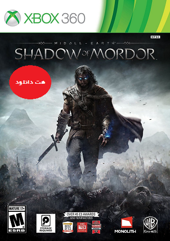 Middle Earth Shadow Of Mordor xbox360 cover small دانلود بازی Middle Earth Shadow Of Mordor برای XBOX360