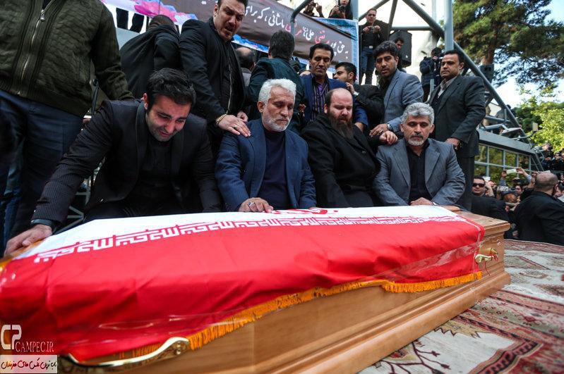عکس های مراسم تشییع پیکر مرحوم مرتضی پاشایی با حضور هنرمندان«1»