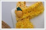 آموزش بافت شال گردن آناناسی