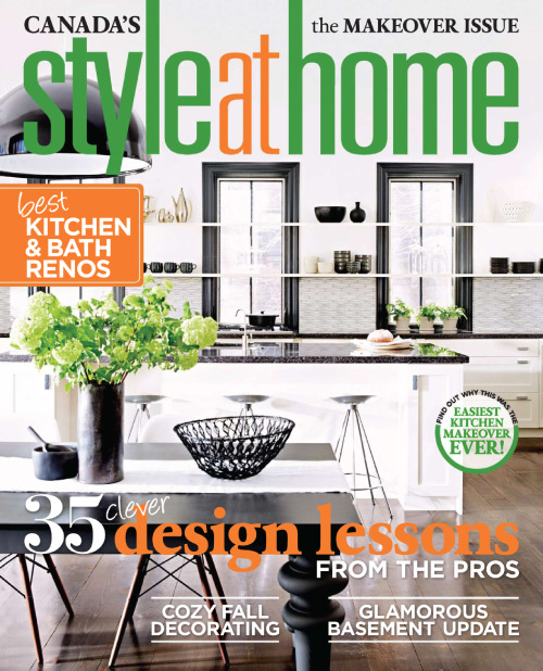 Style At Home Canada – October 2014 (78MB)