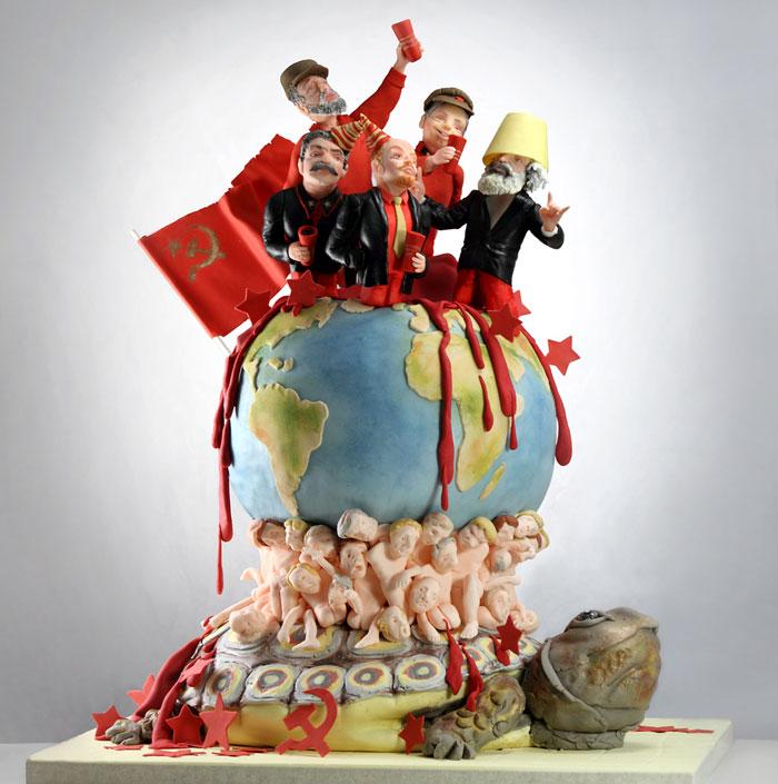 رقابت بر سر پخت خلاقانه ترین کیک دنیا