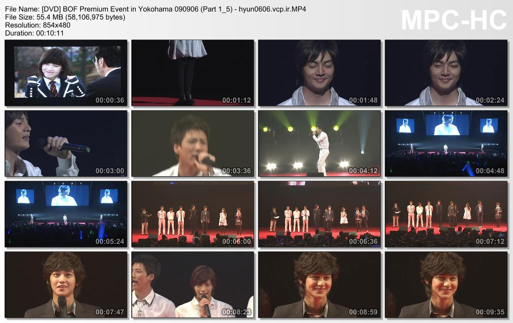 [DVD] SS501 Kim Hyun Joong at BOF Premium Event in Yokohama [09.09.06]