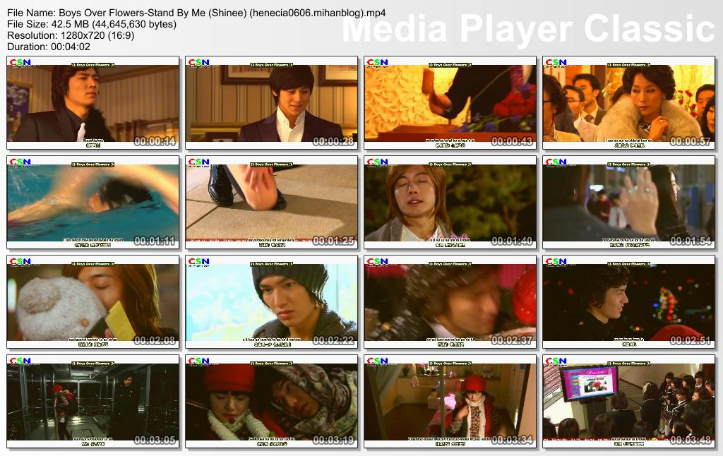 All Music Video From Boys Over Flowers