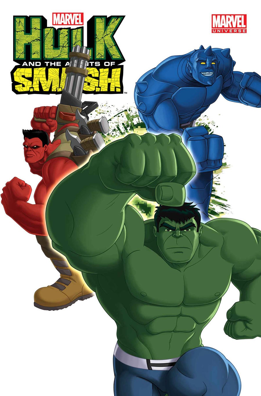 Hulk and the agents of smash season 2 cover دانلود فصل دوم انیمیشن Hulk and the Agents of S.M.A.S.H Season 2 2014