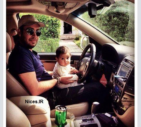 محسن چاووشی و پسرش
