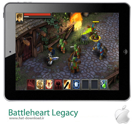Battleheart Legacy بازی میراث جنگ Battleheart Legacy v1.1.1 – آیفون ، آیپد و آیپاد