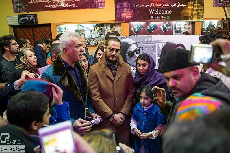 میلاد کی مرام در مراسم افتتاحیه فیلم سینمایی مستانه