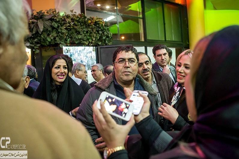 فرهاد اصلانی در مراسم افتتاحیه فیلم سینمایی مستانه