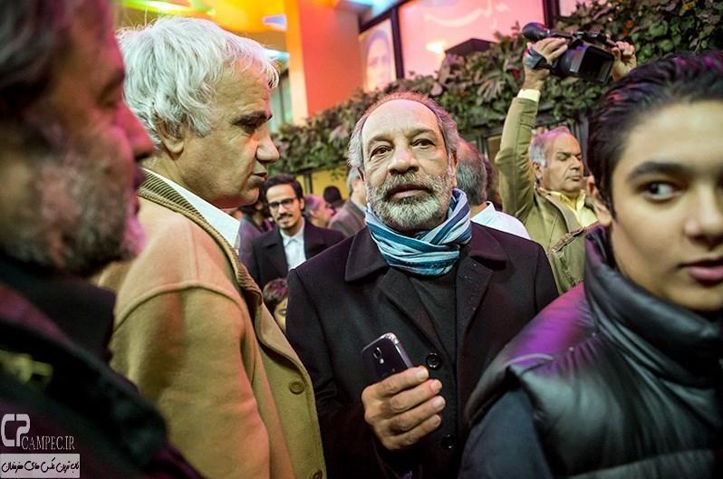 داریوش فرهنگ در مراسم افتتاحیه فیلم سینمایی مستانه