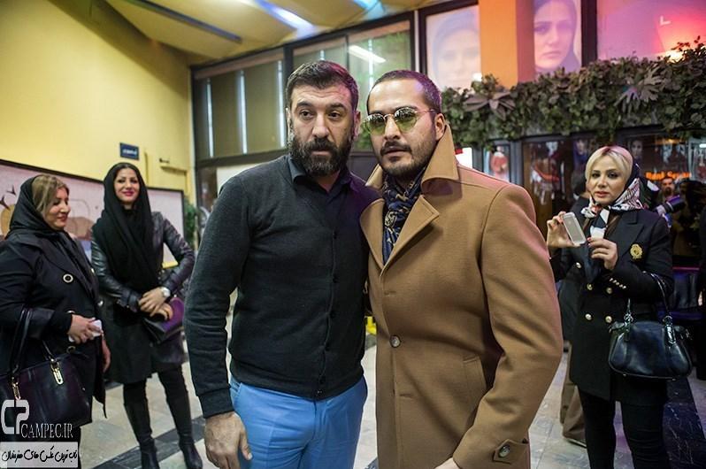 میلاد کی مرام و علی انصاریان در مراسم افتتاحیه فیلم سینمایی مستانه