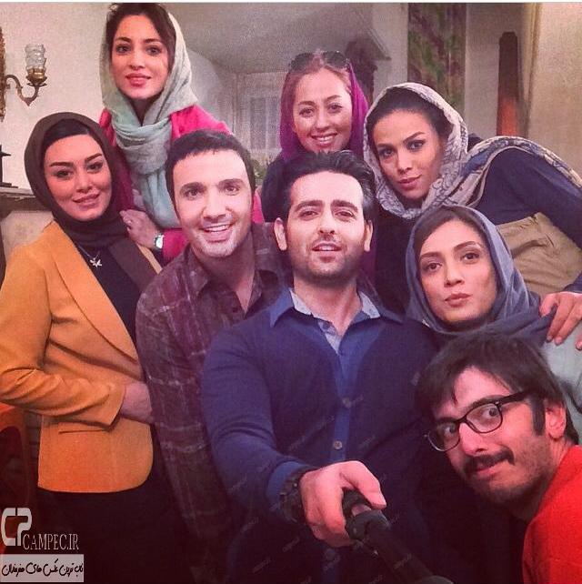 عکس جدید سحر قریشی،لیلا زارع،محمد رضا فروتن و امیر حسین آرمان