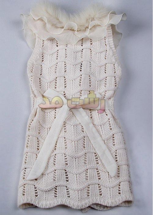 جدیدترین مدلهای لباس بافتنی فشن مجلسی شیک زنانه دخترانه 1394