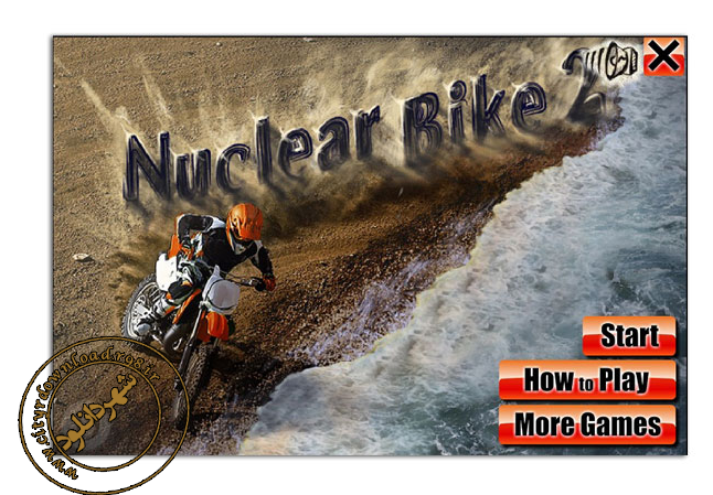 دانلود بازی nuclear bike موتور تریل کم حجم فلش برای PC