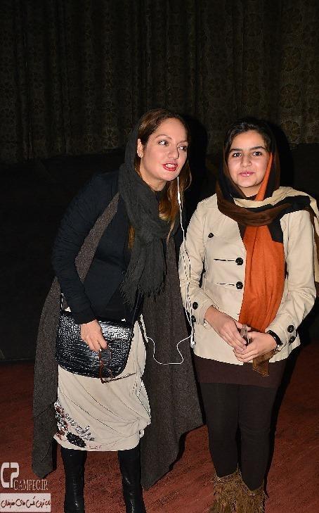 مهناز افشار در مراسم اکران فیلم مستانه