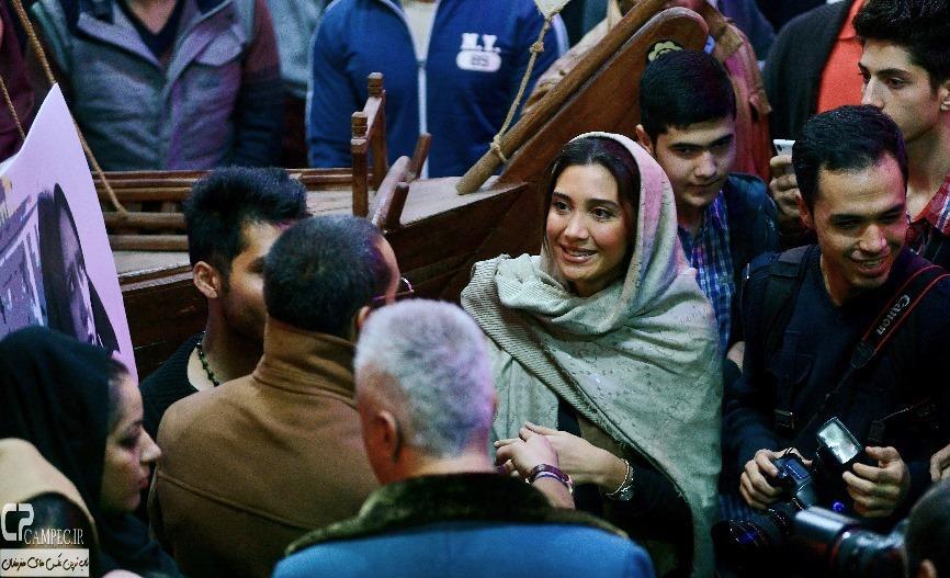 نیکی مظفری در مراسم اکران فیلم مستانه