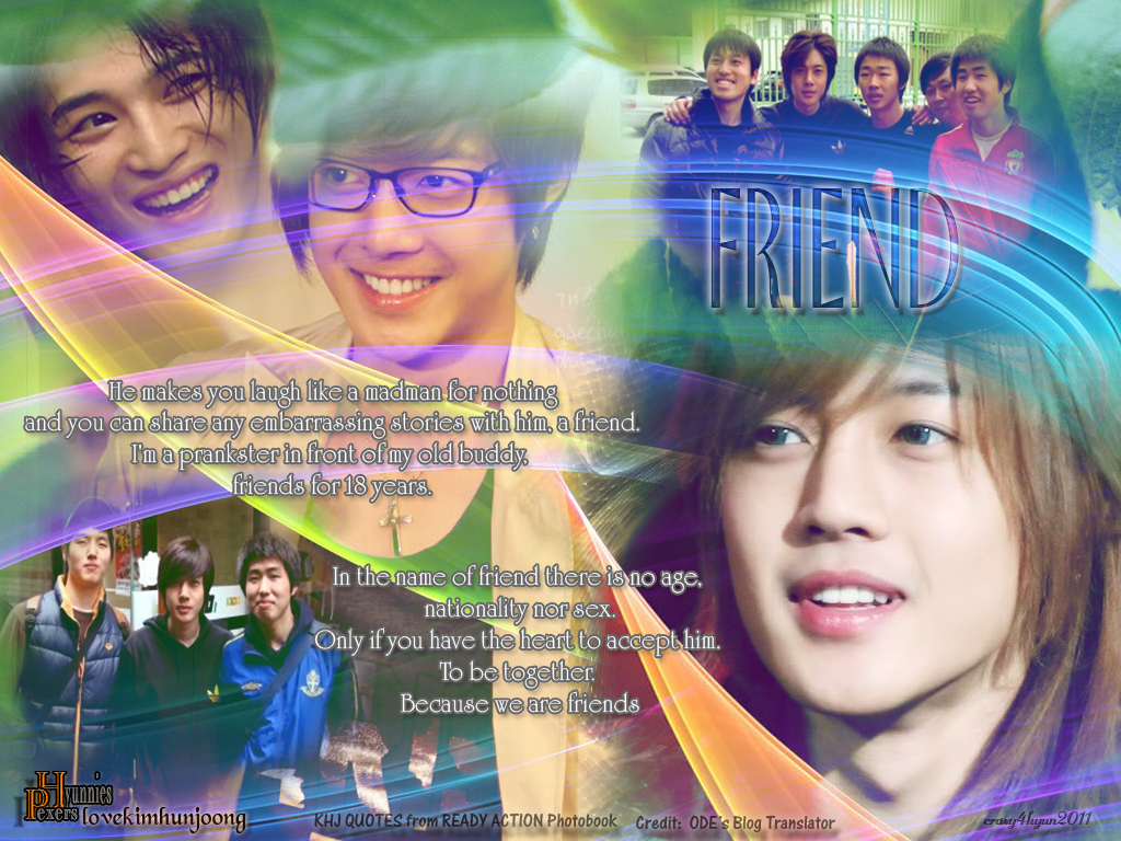 Childhood Friends Of Hyun Joong